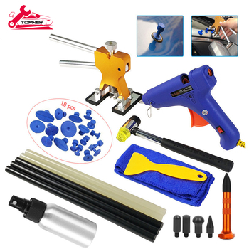 Auto Paintless Dent Repair Kits, Car Puller Full Set Remover Tools for All Kinds of Damages