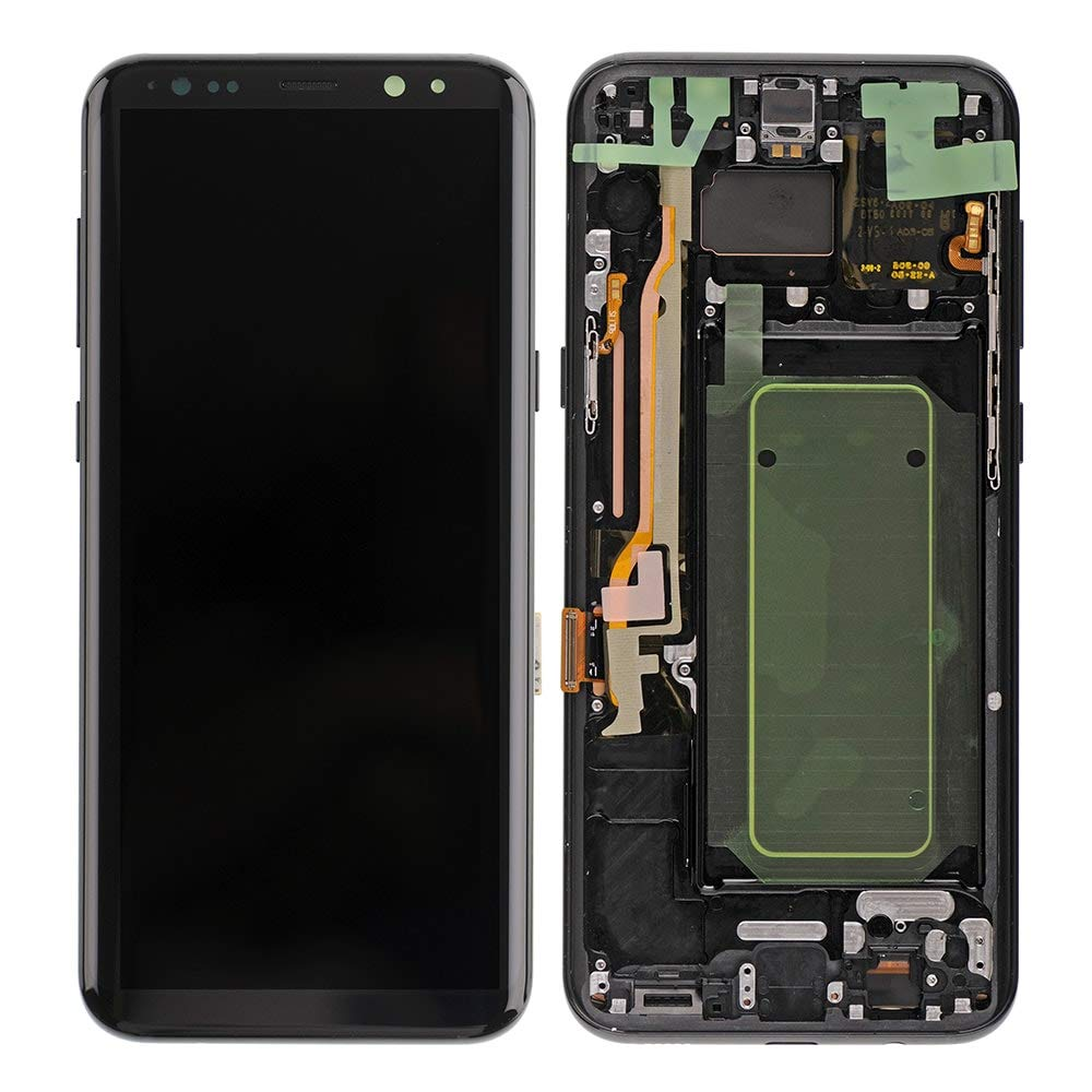 ORIGINAL AMOLED S8Plus LCD For SAMSUNG Galaxy Display S8+ Plus G955U G955F Touch Screen Digitizer With Dead Spot Dot Point