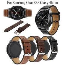22 мм ремешок из натуральной кожи для huawei watch gt браслет
