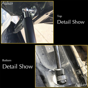 Image 3 - For 2012 2020 Skoda Octavia A7 MK3 Car styling Refit Bonnet Hood Gas Shock Lift Strut Bars Support Rod Accessories