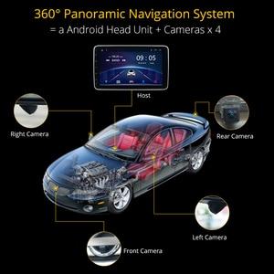 Image 4 - Ownice K5 dönebilen 1 din 2din 10.1 araba radyo evrensel DVD OYNATICI GPS navi DSP 360 Panorama SPDIF amplifikatörler optik yörünge
