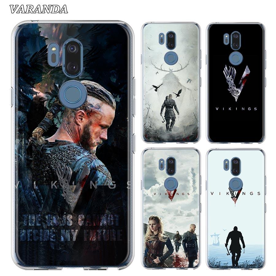 Vikings Tv Shows Silicone Phone Case For LG K40 K40s K41s K50s K51s K61G6 G7 G8 Thinq Q51 Q60 Q61 Q70 Soft Shell Cover Fundas