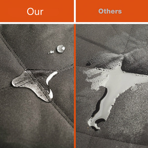 Image 4 - Cawayi Chó Giống Chó Tàu Sân Bay Chân Đế Chống Thấm Nước Cho Thú Cưng Chó Ghế Mèo Đệm Võng Tấm Bảo Vệ Cát Vận Tải Perro Autostoel