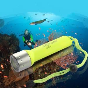 Diving-Flashlight Scuba-Diver Waterproof Portable 2000LM Q5 Led 1pcs Amphibious