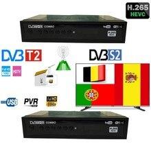 Pantesat HD-168 Europäischen HD H.265 DVB T2/S2x/S2/T2 satellite TV receiver unterstützt Cccam europa youtube empfänger satelliten