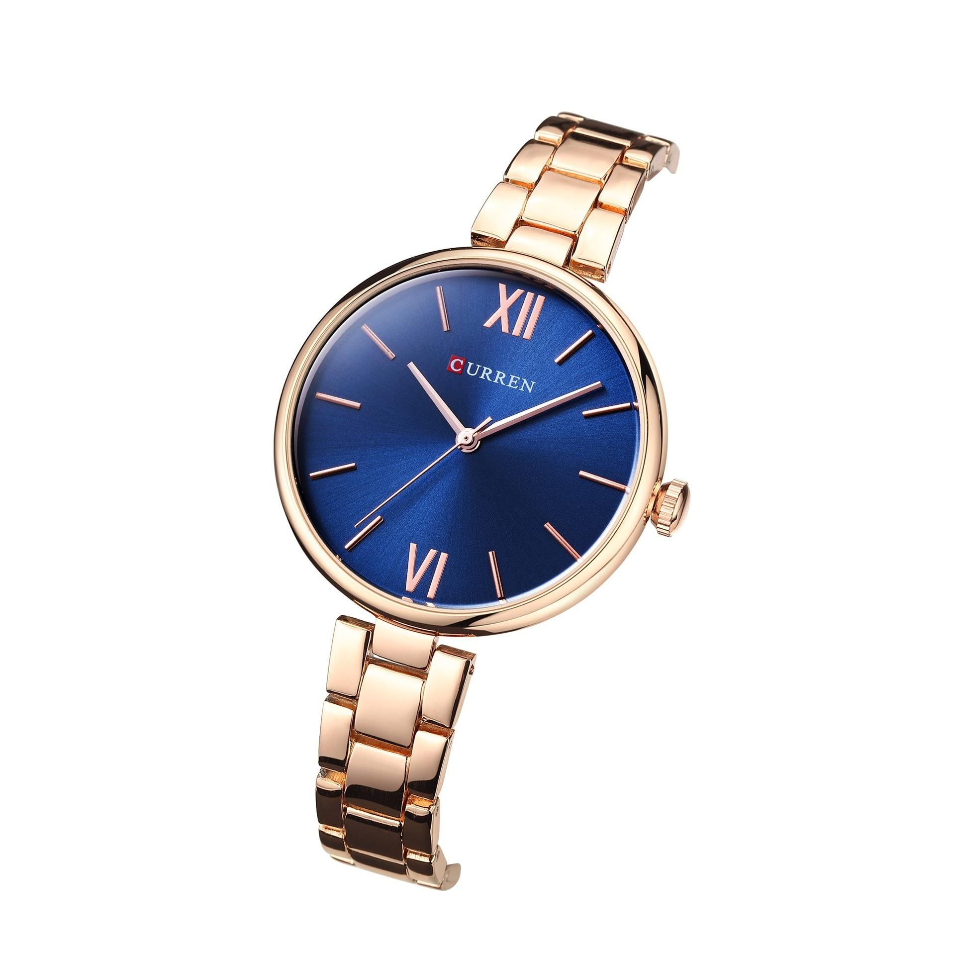 Nouvelle montre pour femme à la mode en acier ceinture montre pour femme étanche quartz montre de mode montre pour femme - 2