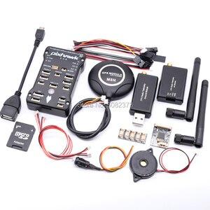 Pixhawk PX4 PIX 2.4.8 32 Bit Flight Controller+M8N GPS W/ built-in compass+3DR 100/500MW Radio Telemetry 433Mhz / 915Mhz(China)
