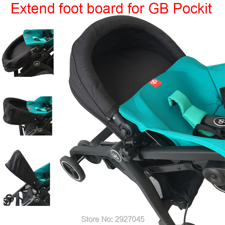 Baby stroller accessories extend footboard extension footrest footmuff for Goodbaby Pockit 2019/ Pockit plus/ Pockit+/ GB PockitStrollers Accessories   -