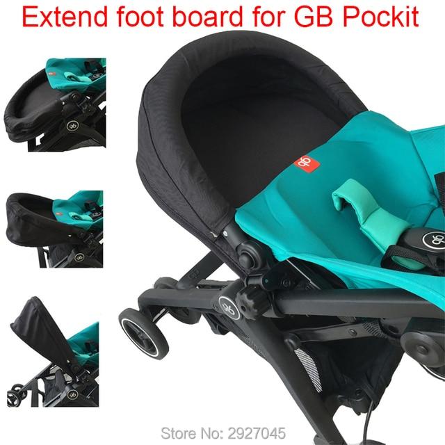 תינוק עגלת אביזרי להאריך מדרך הארכת הדום footmuff עבור Goodbaby Pockit 2019/ Pockit בתוספת (לא עבור כל עיר)