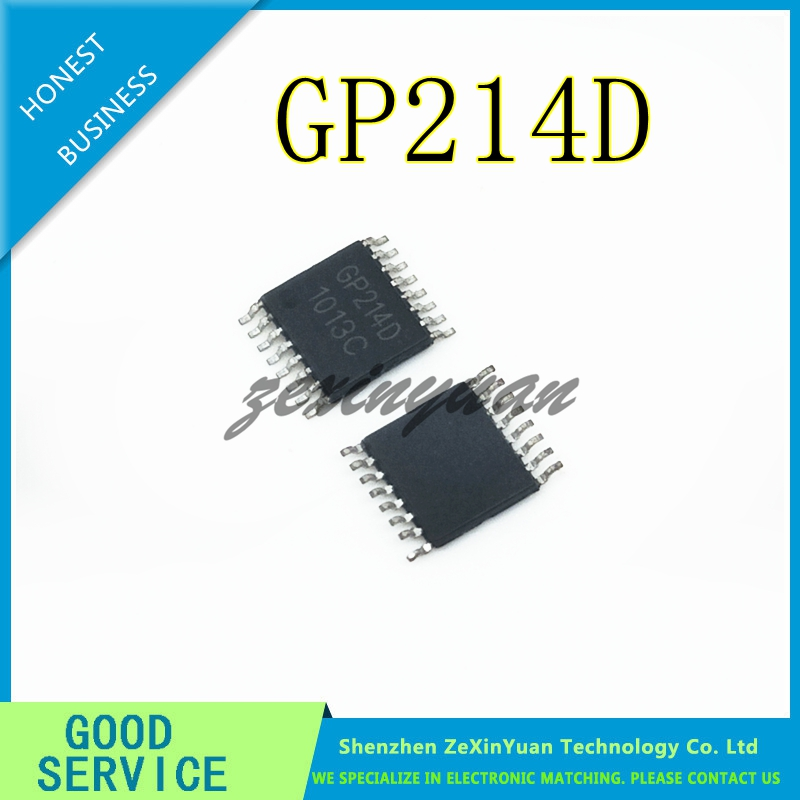 5PCS/LOT GP214D GP214 TSSOP-16 NEW ORIGINAL