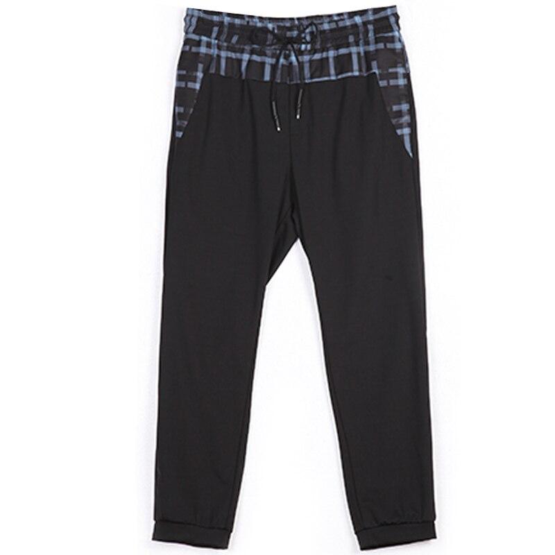 จัดส่งฟรีชายเสื้อผ้าฤดูร้อนใหม่ Slim สบายๆข้อเท้าความยาวกางเกงกางเกง B172217176-ใน กางเกงสกินนี่ จาก เสื้อผ้าผู้ชาย บน   3