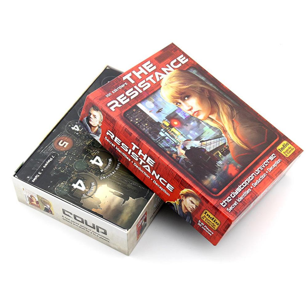 Avalon Board Game Cards Wear-resistant Durable English Game Playing Pokers Set For Party Home Board Game