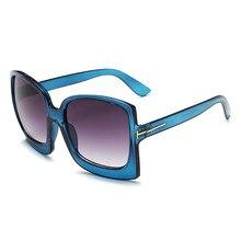 New Oversized Gafas Square Sunglasses Women Oculos Luxury La