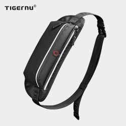 Tigernu 2021 New Men Waist Bag Young College Students Travel Men Crossbody Bag Male Belt Bag Brand Waterproof Fashion Chest Bags
