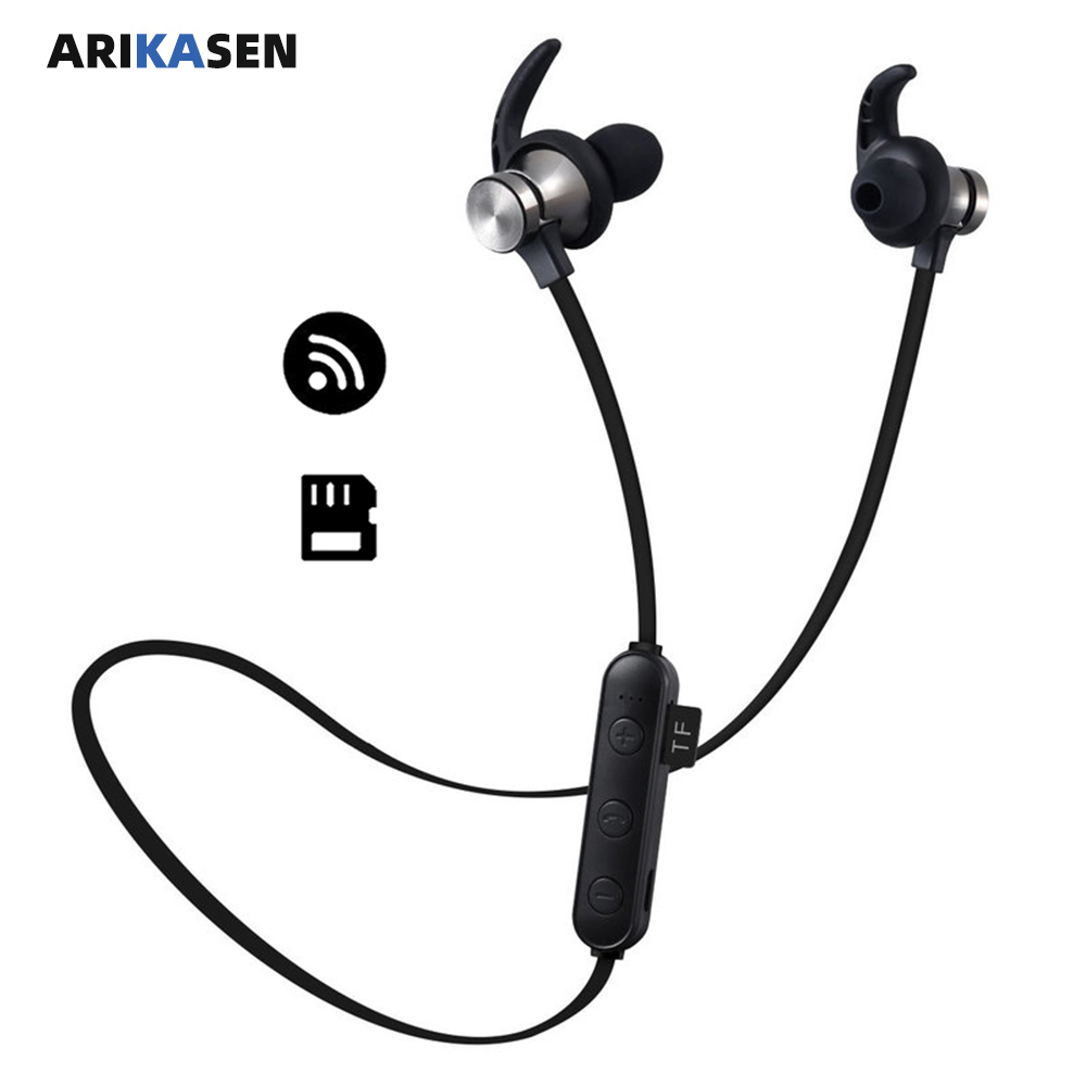 Arikasen extended memory bluetooth <font><b>Mp3</b></font> Player Sport drahtlose <font><b>MP3</b></font> Musik Player Walkman Kopfhörer Kopfhörer Lauf <font><b>Mp3</b></font> Player image
