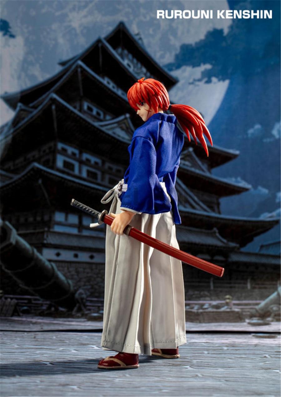 kenshin himura kenshin pvc figura de acao brinquedo modelo gt 05