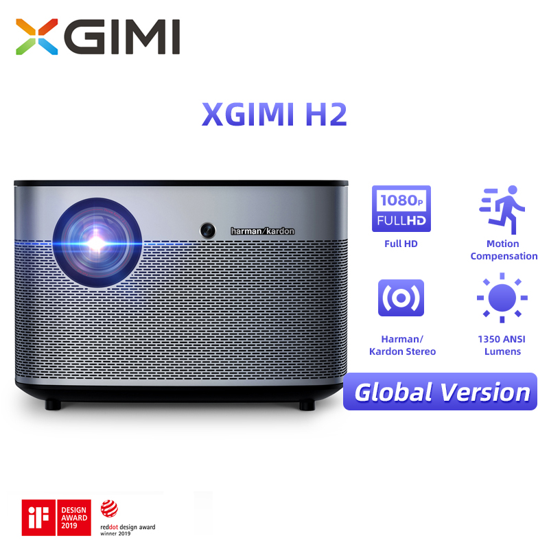 Home-Projector Video Theater Android 4k Beamer Lumens Xgimi H2 1080p Bluetooth Wifi ANSI