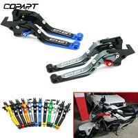 For Kawasaki ER6N ER 6N 2009 2010 2011 2012 2013 2014 2016 ER 6N Motorcycle Accessories Adjustable Folding Brake Clutch Levers