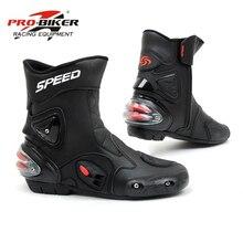 Shoes Motorbike Motorcycle-Boots Riding Tribe Bicycle Racing Botas Career Men