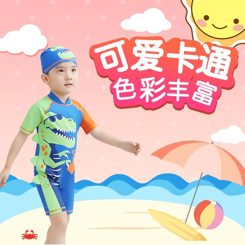 KID'S Swimwear BOY'S Split Type Tour Bathing Suit Baby Boxer Quick-Dry Small CHILDREN'S Short Sleeve Surfing Swimwear Swimming C