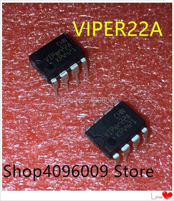 10 pcs/lot VIPer22A DIP8 VIPer22 DIP 22A DIP-8 nouveau et original IC