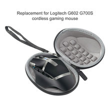 Fare durumda darbeye dayanıklı sert için yedek Logitech MX Master 3 G602 G700S kablosuz oyun fare seyahat saklama çantası