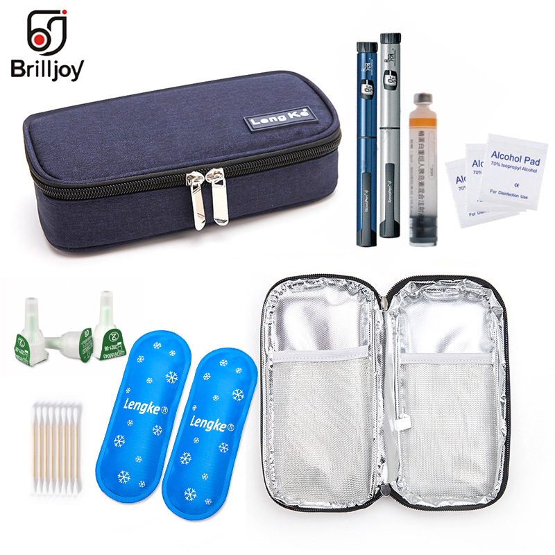 de insulina médica droga Viagem Diabético Cooler