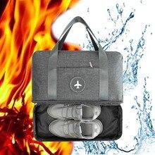 New Cationic Fabric Waterproof Travel Bag Large Capacity Dou