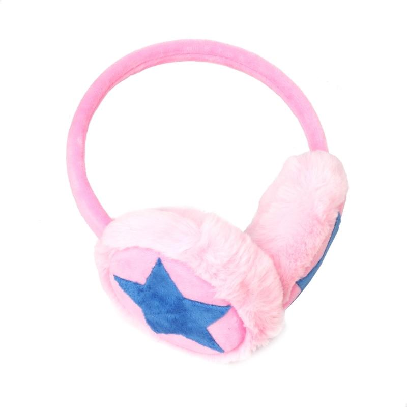 Kids Earmuff Ears Pad Warm Winter Plush Girl Earflap Earbuds Snowy Windy Warmer 95AB