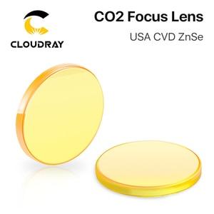 """Image 3 - الولايات المتحدة الأمريكية ZnSe CO2 عدسات تركيز Dia. 12   20 مللي متر FL 50.8 63.5 101.6 مللي متر 1.5   4 """"CVD لآلة قطع النقش بالليزر شحن مجاني"""