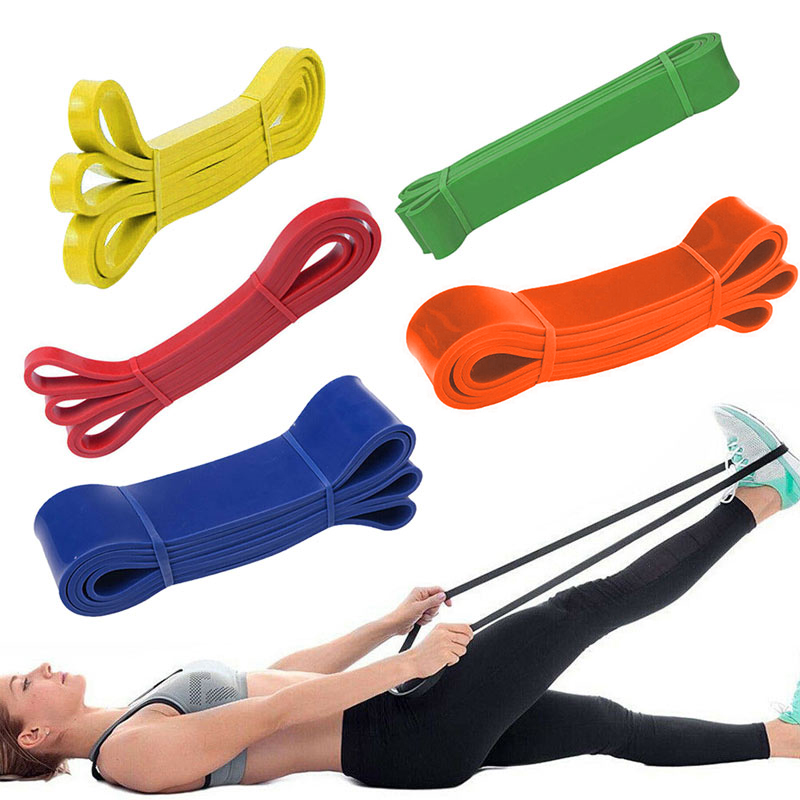 Heavy Duty Resistance Bands Loop Power Gym Fitness Exercise Yoga Workout Pilates Workout Stretching Resistance Training Bands(China)
