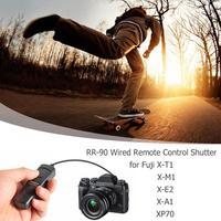 wired shutter SHOOT RR-90 Wired Remote Control Shutter Release Cable For Fuji Fujifilm X-T1/X-A1/X-M1/X-E2/XQ1/XP70 Photo Studio Accessories (4)