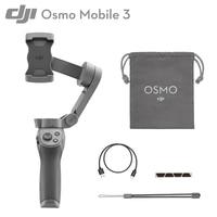 DJI Osmo Mobile 3 Combo 3-Achsen Gimbal Smartphone Stabilisator Faltbare Selfie Stick Schnell Roll Gesicht Anerkennung Gesture Control