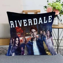 New Arrival Riverdale TV Pillow Case For Home Decorative Pillows Cover Invisible Zippered Throw PillowCases 40X40,45X45cm