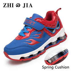Children Outdoor Sports Shoes Boy Running Shoes Kids Jogging Spring Cushion Footwear Trendy Fashion Cool Shoe for Boys Sport