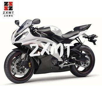 ZXMT Motorcycle Panel Bodywork Complete Plastic Full Fairing Set Kit Fit For YZF R6 2017-2018 17 18 White Black New Matte Gloss недорого