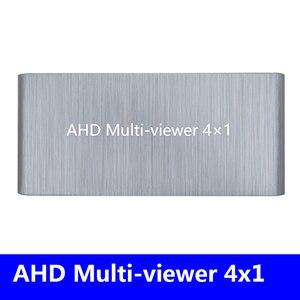 4 AHD мульти-просмотра AHD одноэкранный мульти-просмотра в режиме реального времени AHD сплиттер бесшовный переключатель 1080p60Hz переключатель ад...