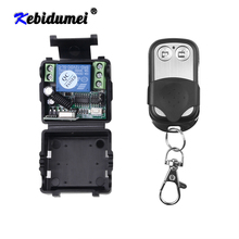 Hot Wireless Remote Control Switch DC 12V 10A 1CH relay Receiver Module and RF Transmitter 433 Mhz Remote Controls