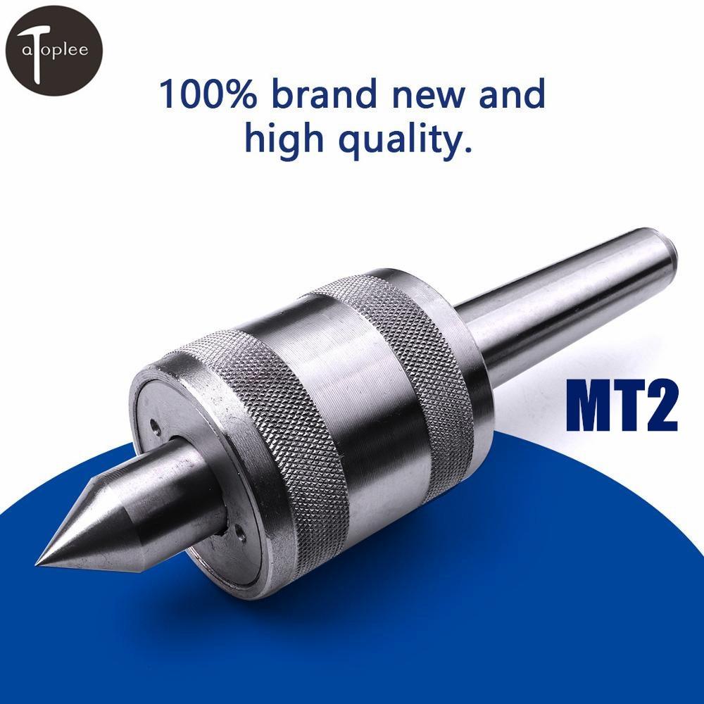 High Accurate Steel MT2 Lathe Live Center Morse Taper Tool Live Revolving CNC Milling Center Taper Machine Accessories In CN/US