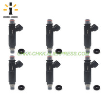 CHKK-CHKK Car Accessory 195500-4370 MR578878 fuel injector for Mitsubishi Montero 3.8L V6 2003~2006 chkk chkk car accessory 195500 4430 n3h1 13 250a fuel injector for mazda rx 8 1 3l l4 2004 2008