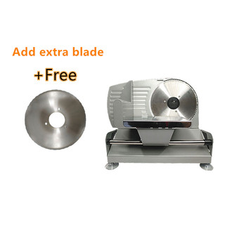 110V/220V electric Household Cut mutton roll Slicer Beef meat slicer Small business Toast bread Frozen meat Meat planer 110 220v home meat slicer semiautomatic electric slicer multifunction meat cutter for commercial fruits ham bread