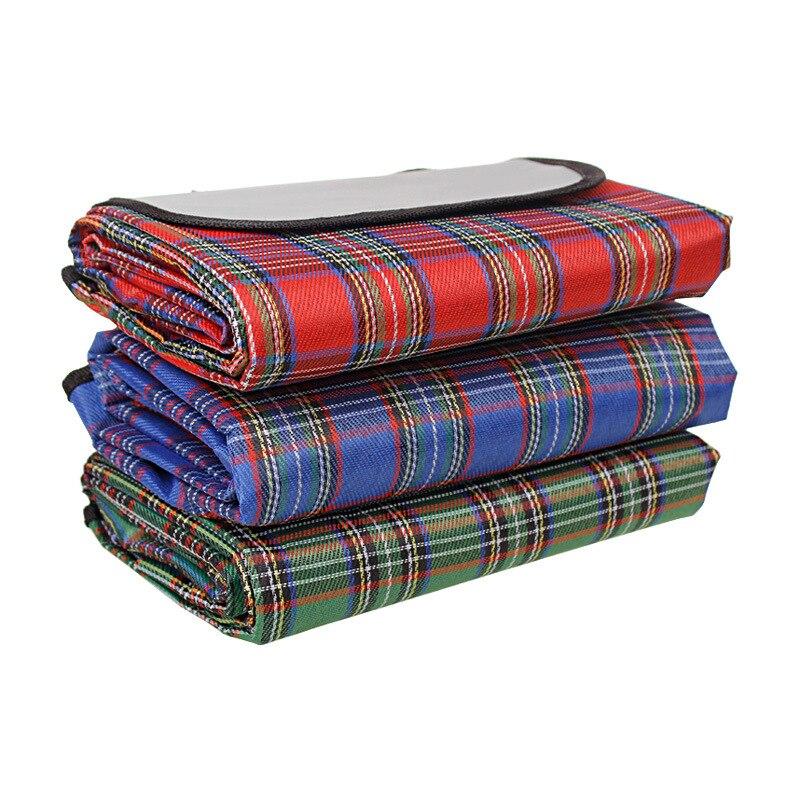 Летний пикник коврики Водонепроницаемый 2x1,5 м палатка влажной Pad палатка коврик