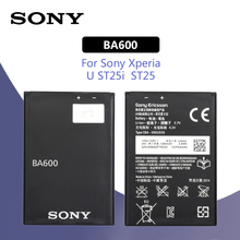 SONY Original BA600 Phone Battery 1290mAh For Sony Xperia ST25i ST25C U Kumquat Replacement Batteria
