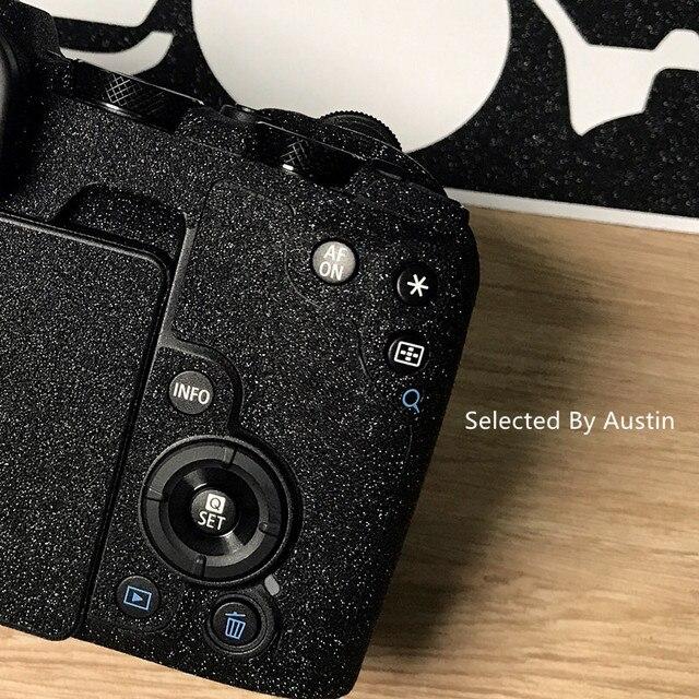 لصقة جلد صناعي لكانون EOS R EOS RP كاميرا الجلد ملصق مائي حامي المضادة للخدش معطف التفاف غطاء