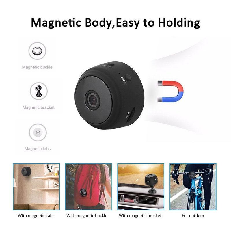 Spy Camera - A9 WiFi 1080P Full HD Night Vision Wireless IP Camera 1