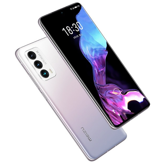 Original Meizu 18 Mobile Phone 6.2 Inch Screen 8GB+128GB Snapdragon 888 Octa Core Android 11 Fast Charging 36W NFC Smartphone 3