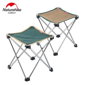 Naturehike składane na zewnątrz rybacki piknik grill krzesło ogrodowe narzędzia kwadratowych stołek kempingowy ze stopu Aluminium 7075 rozmiar M L tanie i dobre opinie