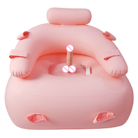 Inflatable Sex Furniture With Vibrator Dildo Sofa Sex Chair Sex Toys For Women Masturbator G Spot Adults Games Soft Silicone.