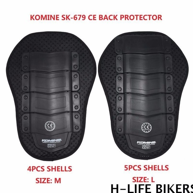 For Komine SK-679 CE Back Protector motorcycle racing suit puncture-proof shell built-in back support  jacket back protection