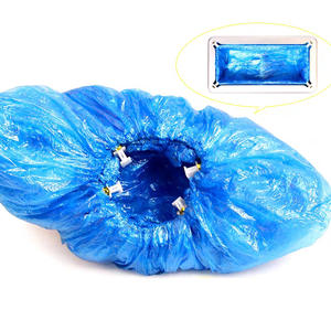 Shoe-Cover Disposable-Machine Automatic PE for Special T-Buckle 100-800PCS